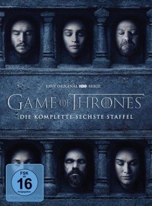 Game of Thrones. Staffel.6, 5 DVDs