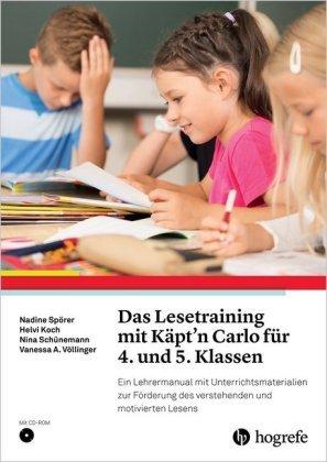 Das Lesetraining mit Käpt'n Carlo für 4. und 5. Klassen, m. CD-ROM