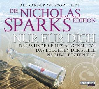 Nur für dich - Die Nicholas Sparks Edition, 18 Audio-CDs