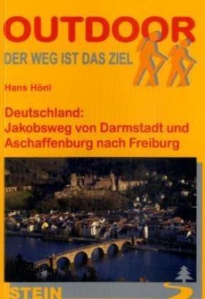 Deutschland, Jakobsweg von Darmstadt und Aschaffenburg nach Freiburg