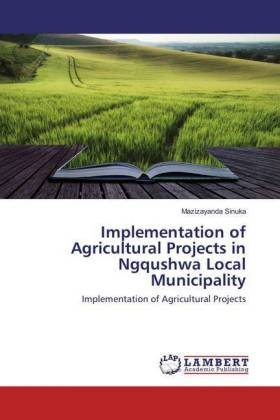 Implementation of Agricultural Projects in Ngqushwa Local Municipality