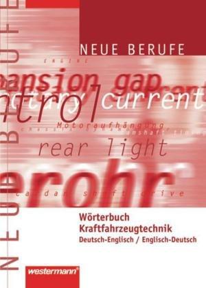 Wörterbuch Kraftfahrzeugtechnik