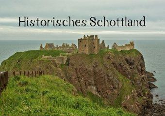 Historisches Schottland (Posterbuch DIN A4 quer)
