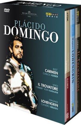 Plácido Domingo - Live aus der Wiener Staatsoper, 4 DVDs