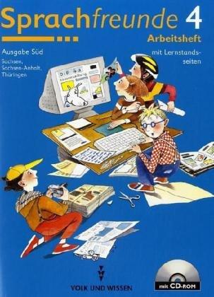 Arbeitsheft, 4. Schuljahr, Ausgabe Sachsen, Sachsen-Anhalt und Thüringen, m. CD-ROM