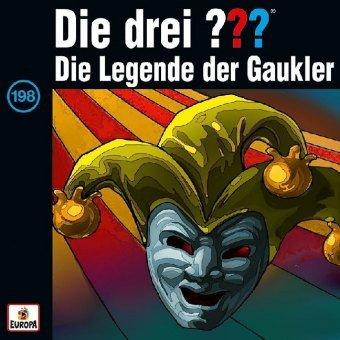 Die drei ??? - Die Legende der Gaukler, 1 Audio-CD