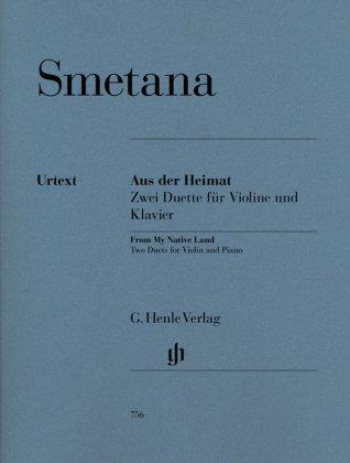 Aus der Heimat, Zwei Duette für Violine und Klavier
