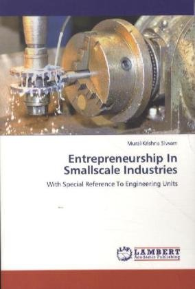 Entrepreneurship In Smallscale Industries