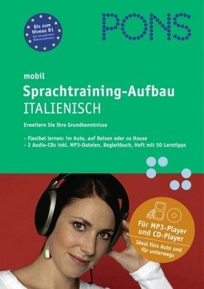 PONS mobil Sprachtraining-Aufbau Italienisch, 2 Audio-CDs
