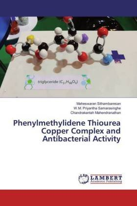 Phenylmethylidene Thiourea Copper Complex and Antibacterial Activity