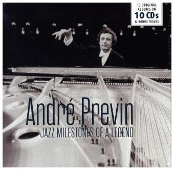 Jazz Milestones of a Legend, Andre Previn, 10 Audio-CDs