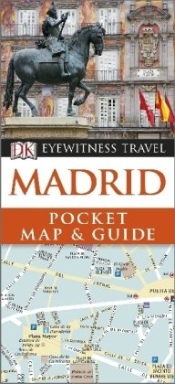 DK Eyewitness Travel Pocket Map and Guide: Madrid
