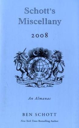 Schott's Miscellany 2008