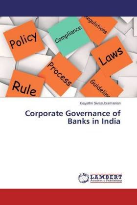 Corporate Governance of Banks in India