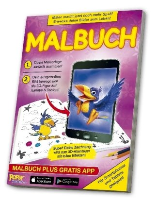 POPIX - Der 3D Malbuch Zauber. Nr.4