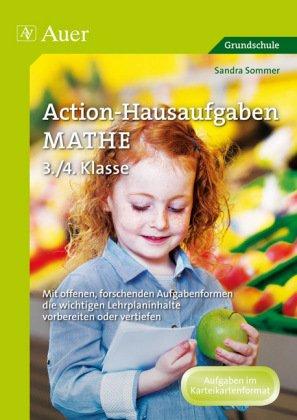 Action-Hausaufgaben Mathe 3./4. Klasse