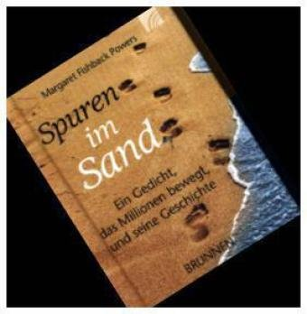 Spuren im Sand (Geschichte des Gedichts), Miniaturausgabe