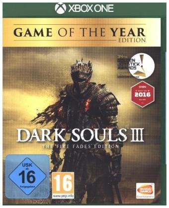 Dark Souls III, 1 Xbox One-Blu-ray Disc (The Fire Fades Edition) (Game of the Year Edition)