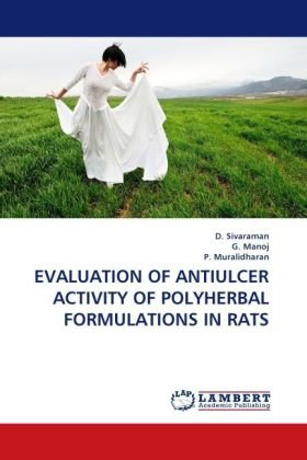 Evaluation of Antiulcer Activity of Polyherbal Formulations in Rats