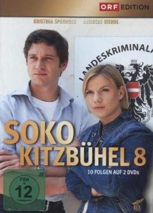 SOKO Kitzbühel. Staffel.8, 2 DVD