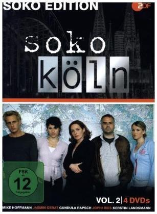 SOKO Edition - SOKO Köln. Vol.2, 4 DVD