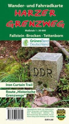 Der Harzer Grenzweg, Wander- und Fahrradkarte