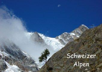 Schweizer Alpen (Posterbuch DIN A4 quer)