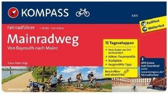 Kompass Fahrradführer Mainradweg
