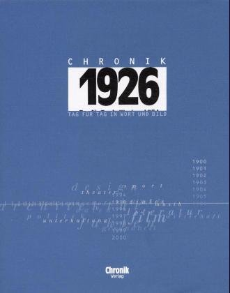 Chronik 1926