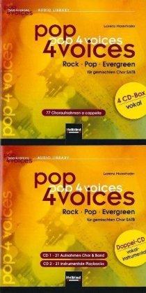 77 Choraufnahmen a cappella und 21 Aufnahmen Chor & Band, 21 instrumentale Playbacks, 6 Audio-CDs